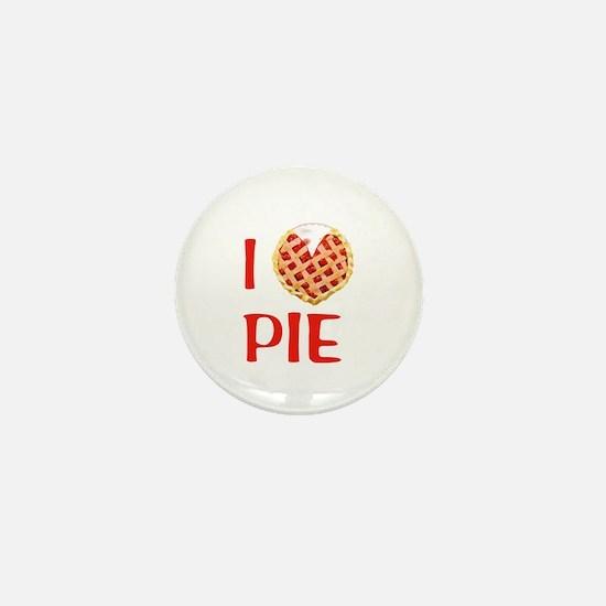 I Love Pie Mini Button