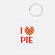 I Love Pie Keychains