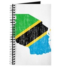 Tanzania Flag And Map Journal