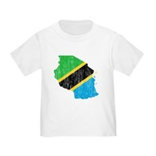 Tanzania Flag And Map T