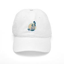 plasterer construction worker trowel Baseball Cap