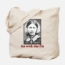 Go with the Flo Nightingale Nurse Tote Bag