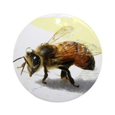honeybee Ornament (Round)