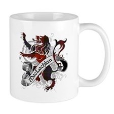 MacLachlan Tartan Lion Mug