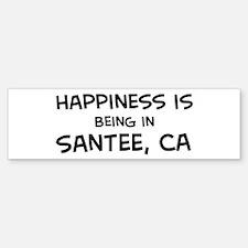 Santee - Happiness Bumper Bumper Bumper Sticker