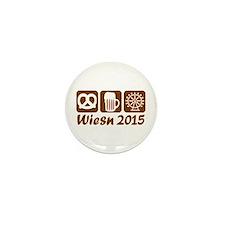Oktoberfest Wiesn 2015 Mini Button (10 pack)