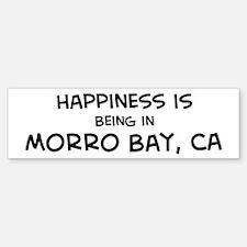Morro Bay - Happiness Bumper Bumper Bumper Sticker