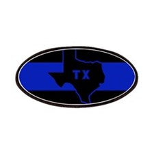 Thin Blue Line - Texas Patches