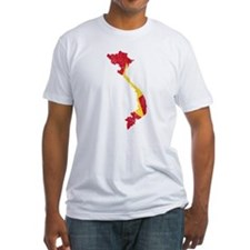 Vietnam Flag And Map Shirt