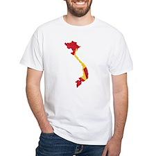 Vietnam Flag And Map Shirt
