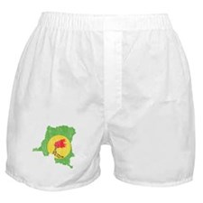 Zaire Flag And Map Boxer Shorts