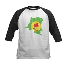 Zaire Flag And Map Tee