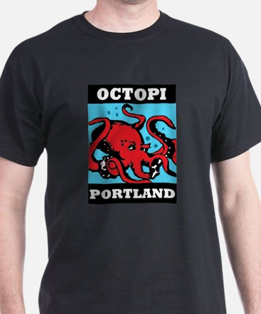 wide octopi T-Shirt
