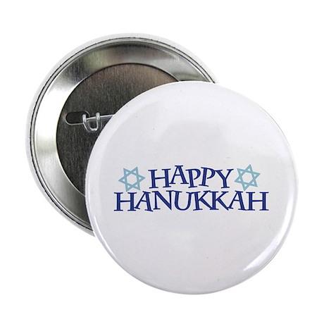 """Happy Hanukkah 2.25"""" Button (100 pack)"""