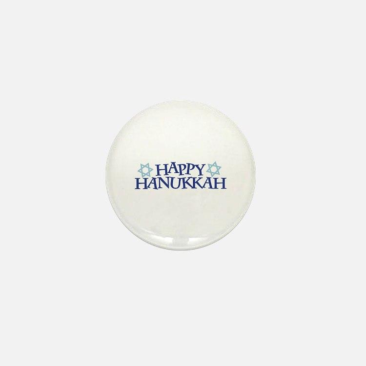 Happy Hanukkah Mini Button (10 pack)