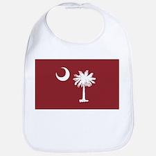 South Carolina Palmetto Flag Bib