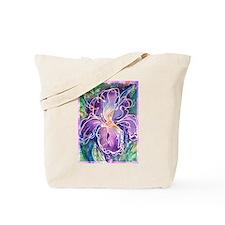 Iris! Beautiful, purple flower, Tote Bag