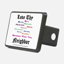Love Thy Neighbor Hitch Cover