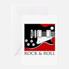 Rock & Roll Greeting Card