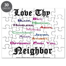 Love Thy Neighbor Puzzle