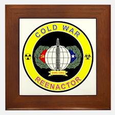 COLD WAR REENACTOR Framed Tile
