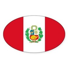 Flag of Peru Bumper Stickers