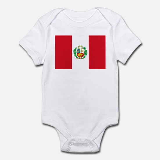 Flag of Peru Infant Bodysuit