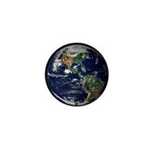 High Resolution EARTH From Space Mini Button (10 p