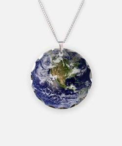 High Resolution EARTH From Space Necklace
