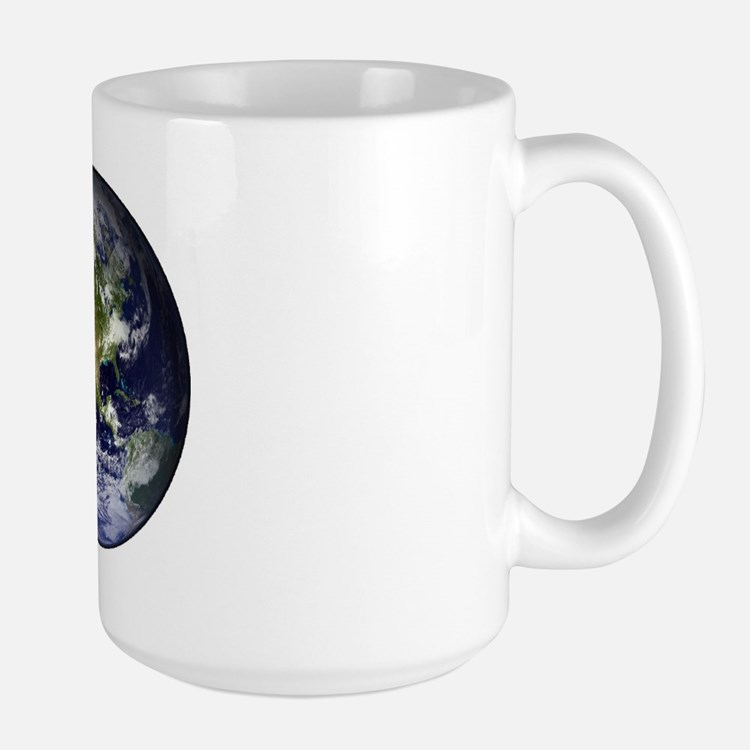 High Resolution EARTH From Space Mug