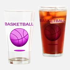 Basketball (E) Drinking Glass