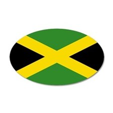 Jamaican Flag Wall Decal