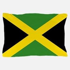 Jamaican Flag Pillow Case