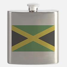 Jamaican Flag Flask