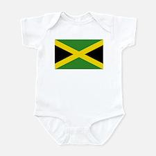 Jamaican Flag Onesie