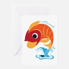 Fish On Greeting Card