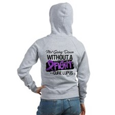 Not Going Down Lupus Zip Hoodie