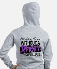 Not Going Down Lupus Zip Hoody