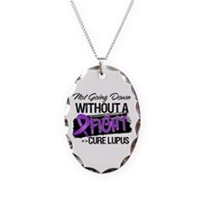 Not Going Down Lupus Necklace