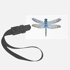 night dragonfly Luggage Tag