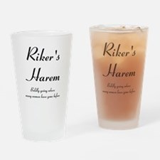 Riker's Harem Drinking Glass