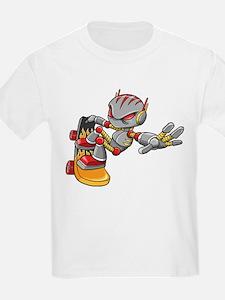 Robot Skater T-Shirt