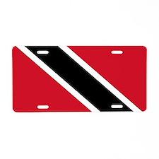 Trinidad and Tobago Flag Aluminum License Plate