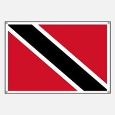 Trinidad and Tobago Flag Banner
