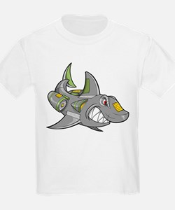 Robot Shark T-Shirt