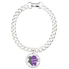 Screw Lupus Charm Bracelet, One Charm