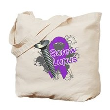 Screw Lupus Tote Bag