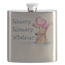 Febuary February Flask