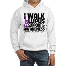 I Walk For Lupus Awareness Jumper Hoody