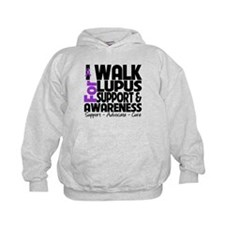 I Walk For Lupus Awareness Hoody